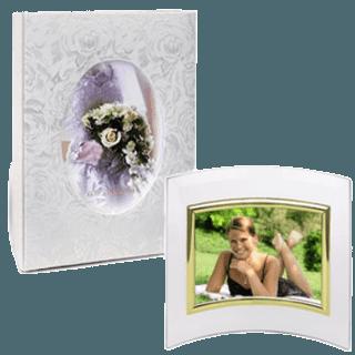 Фотоальбомы и фоторамки