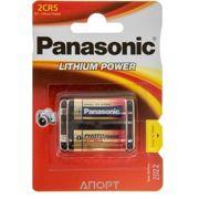 Фото Panasonic 2CR5 bat (6В) Lithium 1шт (2CR-5L/1BP)