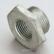 Фото Tiemme Футорка латунная никелированная 1 РН x 3/4 РВ (1500169)