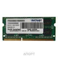 Фото Patriot 8GB SO-DIMM DDR3 1600MHz (PSD38G16002S)