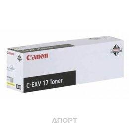 Canon C-EXV17Y