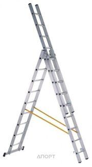 Фото ZARGES Трехсекционная многофункциональная лестница 3х12 (44842)