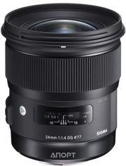 Фото Sigma 24mm f/1.4 DG HSM Art Canon EF
