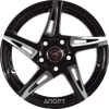 NZ Wheels SH-661 (R18 W8.0 PCD5x112 ET39 DIA66.6)