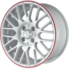 NZ Wheels SH-668 (R15 W6.0 PCD4x108 ET27 DIA65.1)