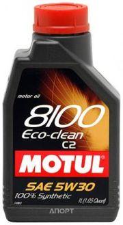 Фото Motul 8100 Eco-clean 5W-30 1л
