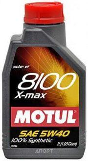 Фото Motul 8100 X-max 0W-40 1л