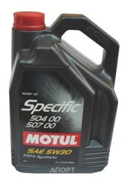Фото Motul Specific VW 504.00-507.00 5W-30 5л