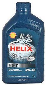 Фото SHELL Helix HX7 5W-40 1л