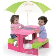 Фото SMOBY Столик для Пикника с Зонтиком (310274)