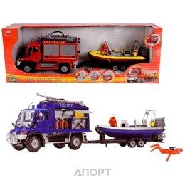 Dickie Toys Трейлер с лодкой (3314867)