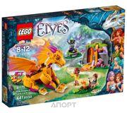 Фото LEGO Elves 41175 Лавовая пещера дракона огня