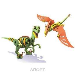 Bloco Dinosauros Velociraptor&Pterausus 30131