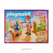 Фото PLAYMOBIL Детская комната с люлькой (5304)