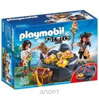 Фото PLAYMOBIL Пиратский тайник с сокровищами (6683)