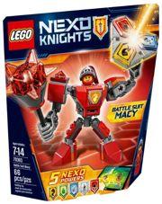 Фото LEGO Nexo Knights 70363 Боевые доспехи Мэйси
