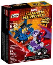 Фото LEGO Super Heroes 76073 Росомаха против Магнето