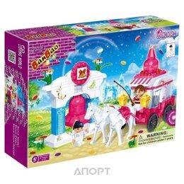 BanBao Любить мир 6107 Карета с упряжкой лошадей