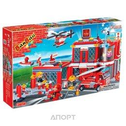 BanBao Пожарные 8311 Пожарная станция