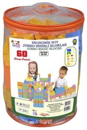 Фото PILSAN Magic Blocks 03-227 60 деталей