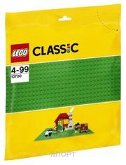 Фото LEGO Classic 10700 Строительная пластина зелёного цвета