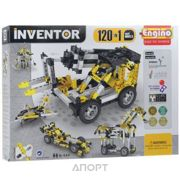 Фото ENGINO Inventor Special Edition 12030 120 моделей с двигателем