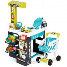SMOBY Интерактивный супермаркет с тележкой (350206)