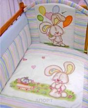 Фото Золотой гусь Комплект в кроватку Радужный (7 предметов)
