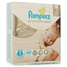 Pampers Premium Care Newborn 1 (88 шт.)
