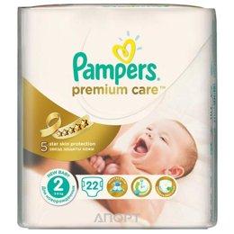 Pampers Premium Care Mini 2 (22 шт.)