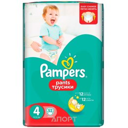 Pampers Pants Maxi 4 (52 шт.)