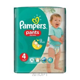 Pampers Pants Maxi 4 (16 шт.)