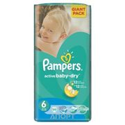 Фото Pampers Active Baby Extra Large 6 (56 шт.)