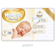 Фото Huggies Elite Soft 1 (26 шт.)