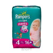 Фото Pampers Active Girl Maxi 4 (16 шт.)