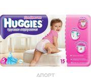 Фото Huggies Трусики для девочек 5 (15 шт.)