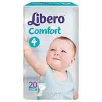 Фото Libero Comfort 4 7-14 кг (20 шт.)