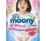 Фото Moony Подгузники-трусики для девочек XL 12-17 кг (38 шт.)