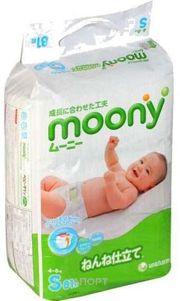 Фото Moony S 4-8 кг (81 шт.)