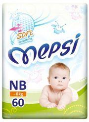 Фото Mepsi Premium NB 0-6 кг (60 шт)