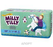 Фото Milly Tilly Трусики-подгузники для мальчиков 4 7-10 кг (46 шт.)