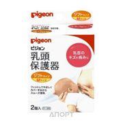 Фото Pigeon Силиконовая накладка для кормления, размер M, 2 шт.