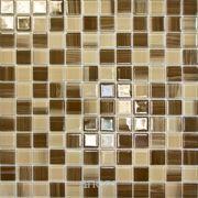 Фото Elada Mosaic JSM-CH1018 327x327x4мм бежевая полосатая