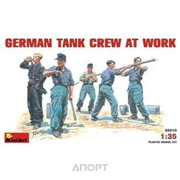 MiniArt Немецкий танковый экипаж за работой (MA35010)
