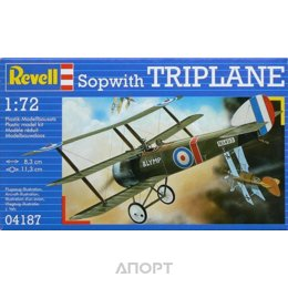 Revell Сборная пластиковая модель самолета Sopwith Triplane. (RV04187)