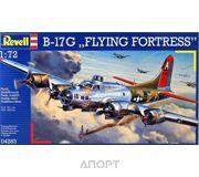 Фото Revell Тяжелый бомбардировщик Боинг B-17 «Летающая крепость» (Flying Fortress). (RV04283)