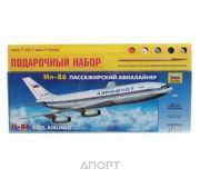 Фото ZVEZDA Пассажирский авиалайнер Ил-86 (подарочный набор) (ZVE7001PN)
