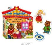 Фото Vladi Toys Магнитный театр. Три медведя (VT3206-10)
