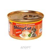 Фото Gimpet ShinyCat курица с крабом 70 г