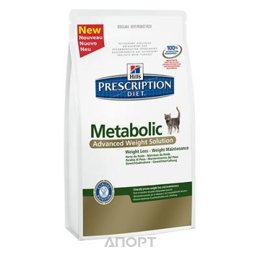 Hill's Prescription Diet Feline Metabolic 4 кг